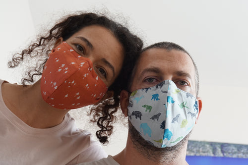 Washable and Reusable Fabric Face Mask