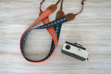 Load image into Gallery viewer, Chevron Webbing Sturdy Camera Strap, Stylish DSLR Strap