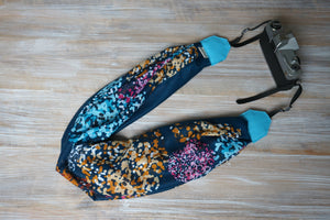 City Lights Scarf Camera Strap