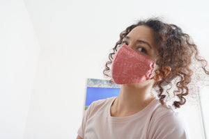 Reusable Fabric Face Mask with Filter Pocket
