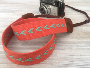 Chevron Webbing Sturdy Camera Strap, Stylish DSLR Strap
