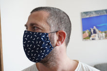 Load image into Gallery viewer, Reusable Fabric Face Mask with Filter Pocket