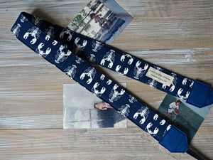 Lobster Camera Strap - Nautical DSLR Photography Accessories - Personalised Gifts