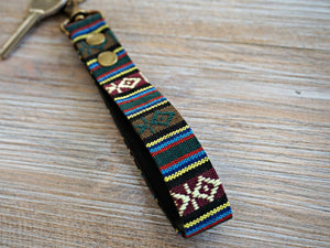 Unique Aztec Inspired Tribal Keyfob