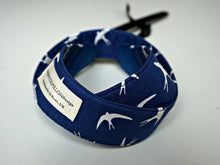 Load image into Gallery viewer, Swallows Camera Strap - Navy Blue DSLR Camera Strap - Photography - Camera Accessories - Personalised Camera Sling