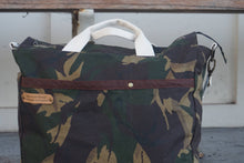 Load image into Gallery viewer, Camo Print Large Shoulder Bag - style: OASIS