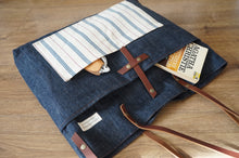 Load image into Gallery viewer, Denim Shoulder Bag - Crossbody Bag - Sample Sale Bags