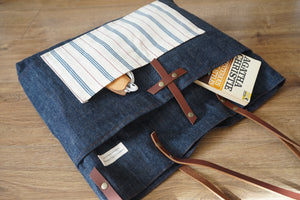 Denim Shoulder Bag - Crossbody Bag - Sample Sale Bags