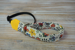 Spring Flowers Camera Wrist Strap - Tana Lawn Edengam T