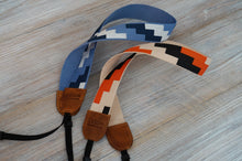 Load image into Gallery viewer, Tetris Webbing Camera Strap, 2021 Collection