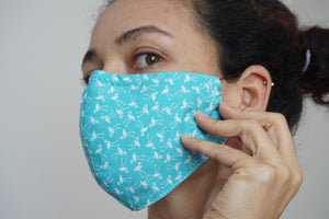 Washable Protective Fabric Masks
