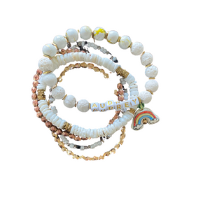 Rainbow Baby Bracelet Full Stack