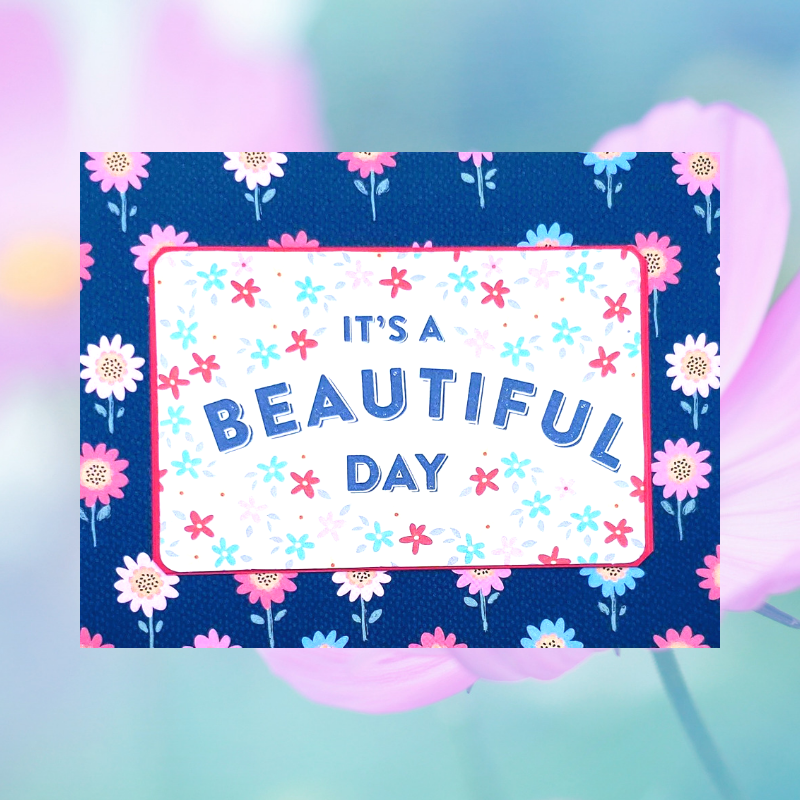 the-honey-bundle-hand-written-card-it's-a-beautiful-day