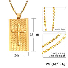 Load image into Gallery viewer, CROSSPLATE - Long Necklace - Marvellmen