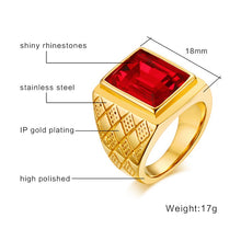 Load image into Gallery viewer, CRYSTAL - Ring Stainless - Marvellmen