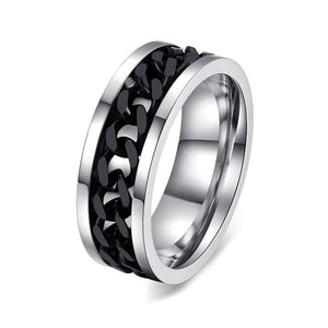 LINK SPINNER - Ring Stainless - Marvellmen