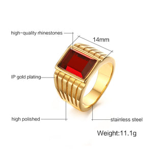 RED - Ring Stainless - Marvellmen