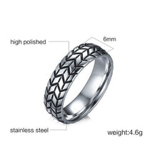 Load image into Gallery viewer, TIRE - Ring Stainless - Marvellmen