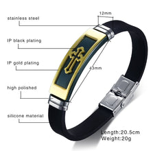 Load image into Gallery viewer, CROSS X1 - Leather Bracelet - Marvellmen