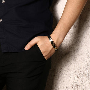 CROSS X1 - Leather Bracelet - Marvellmen