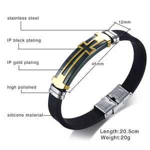CROSS - Leather Bracelet - Marvellmen