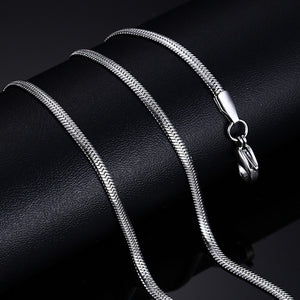 SILVER DIFF - Long Necklace - Marvellmen