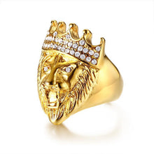 Load image into Gallery viewer, LIONKING - Ring Stainless - Marvellmen