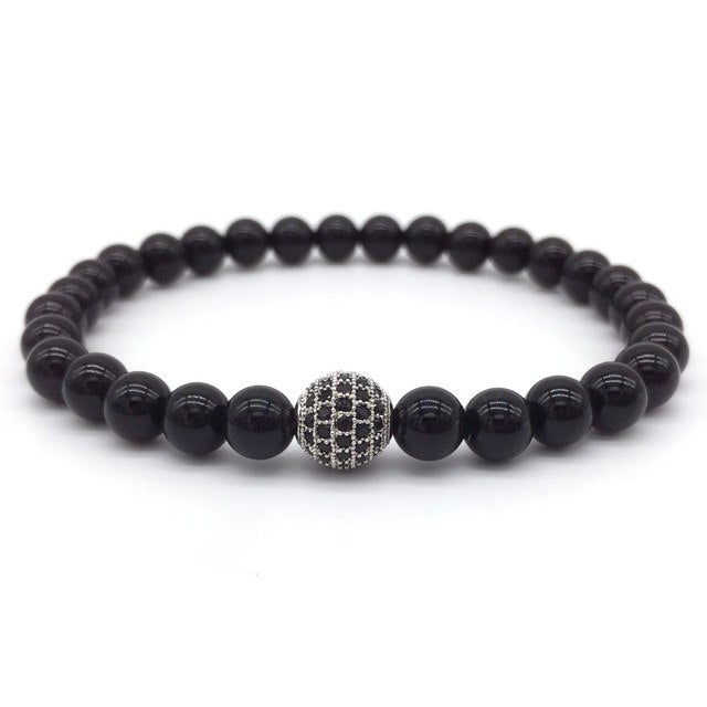 GEOBALL - Natural Beaded Bracelet - Marvellmen