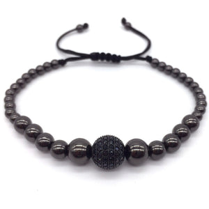 ROUNDGEO - Natural Beaded Bracelet - Marvellmen