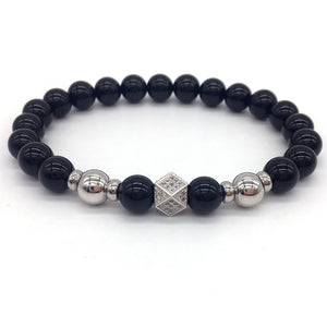 CUBIC - Natural Beaded Bracelet - Marvellmen