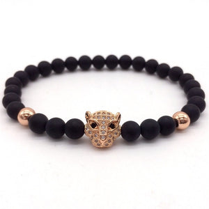LEOPARD - Natural Beaded Bracelet - Marvellmen