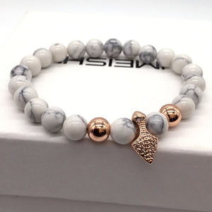 SPEAR BLACK - Natural Beaded Bracelet - Marvellmen