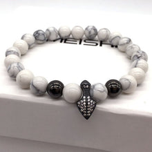 Load image into Gallery viewer, SPEAR BLACK - Natural Beaded Bracelet - Marvellmen
