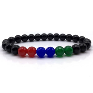 3COLOR - Natural Beaded Bracelet - Marvellmen