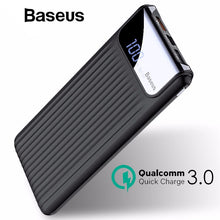 Load image into Gallery viewer, Baseus 10000mAh LCD Quick Charge 3.0 Dual USB Power Bank - Marvellmen