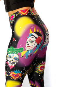 Dia de los muertos Leggings (Day of the Dead)