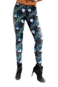 Animales del Espacio Leggings