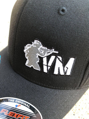 VM Jet Black Flexfit Hat