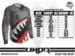 UNDR Ribbon Semi Custom Jersey