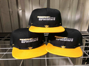 Seattle Uprising Black Gold Snapback