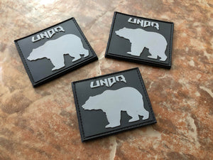 Wandering Bear Black/Gray Patch