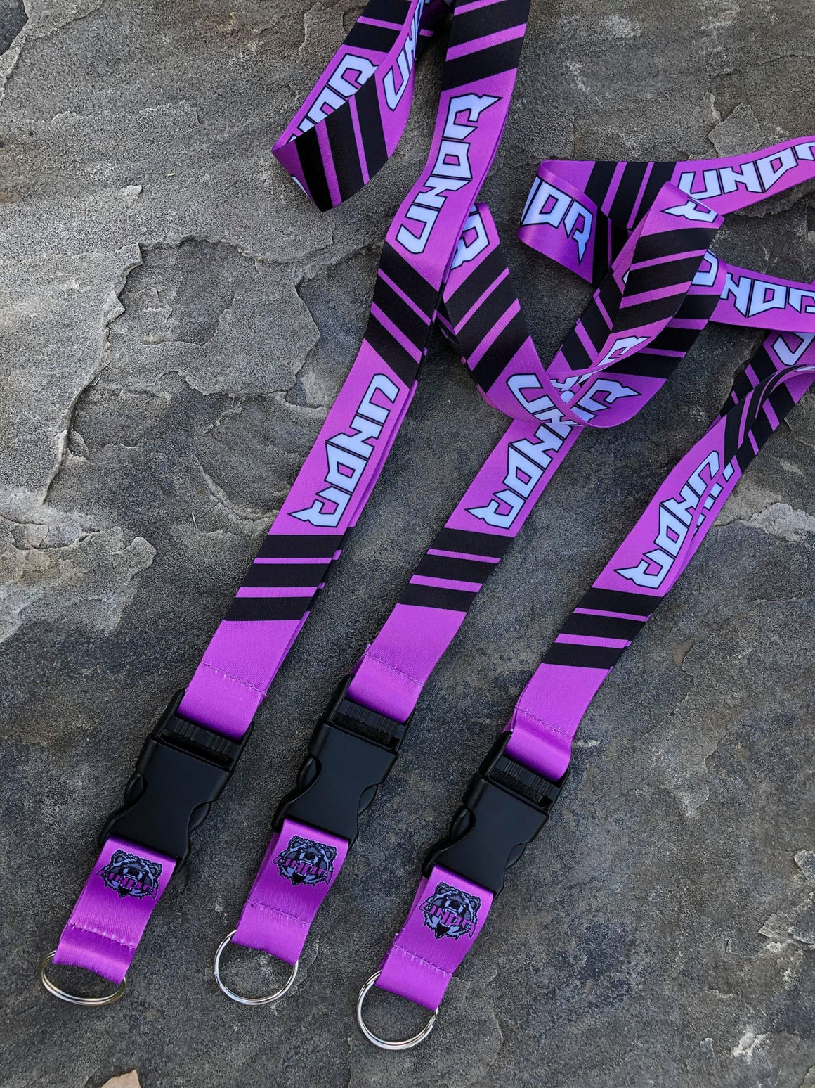 UNDR Purple Lanyard
