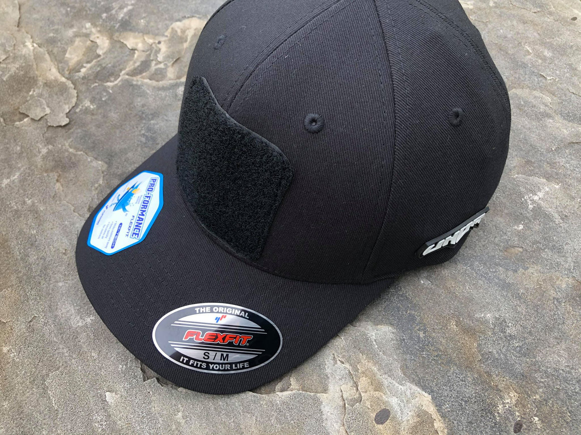 Jet Black Flexfit Hat