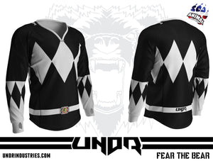 Black Ranger Semi Custom Jersey