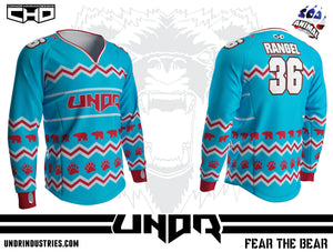 Ugly Sweater 1 Semi Custom Jersey