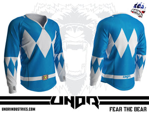 Blue Ranger Semi Custom Jersey