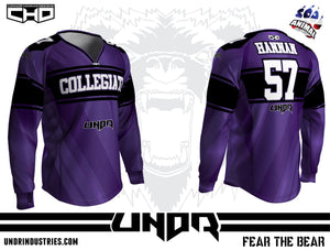 Collegiate Semi Custom Jersey