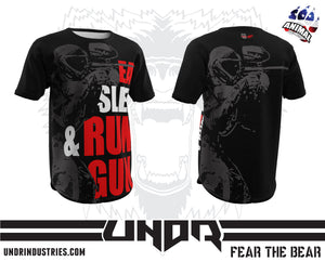 Eat Sleep Run & Gun Tech Shirt
