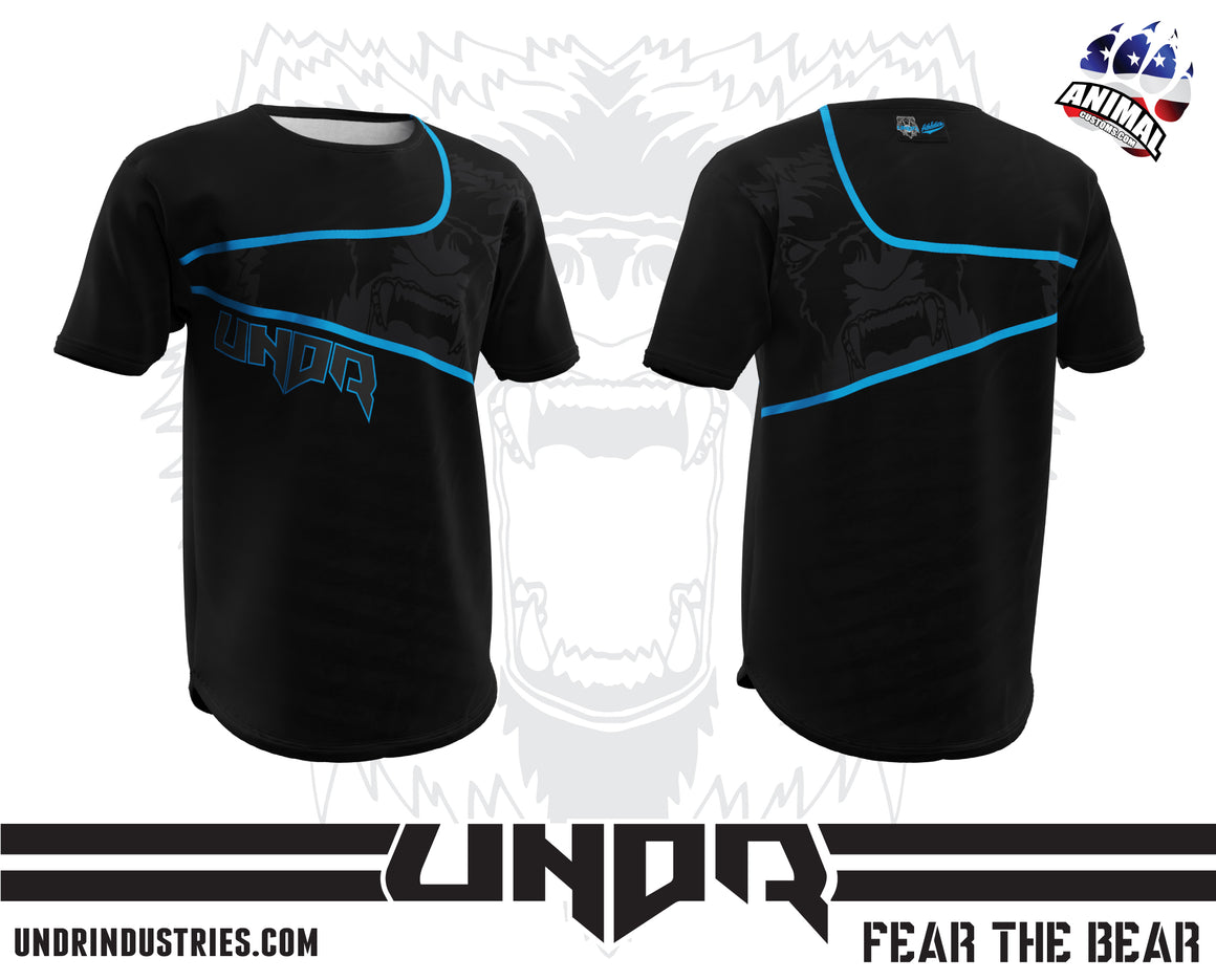 Factory Cyan Tech Shirt