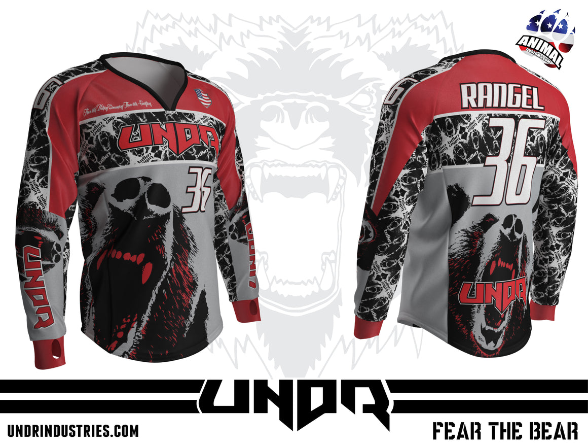 2015 FEAR THE BEAR Semi Custom Jersey